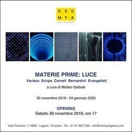 MATERIE PRIME: LUCE