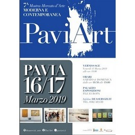 PaviArt 2019: l'arte contemporanea torna in fiera
